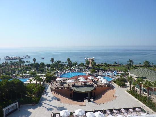 Voyage Sorgun: View from our room top floor of main building