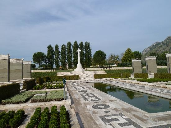 Cassino, Ιταλία: British and Commonwealth War Cemetry