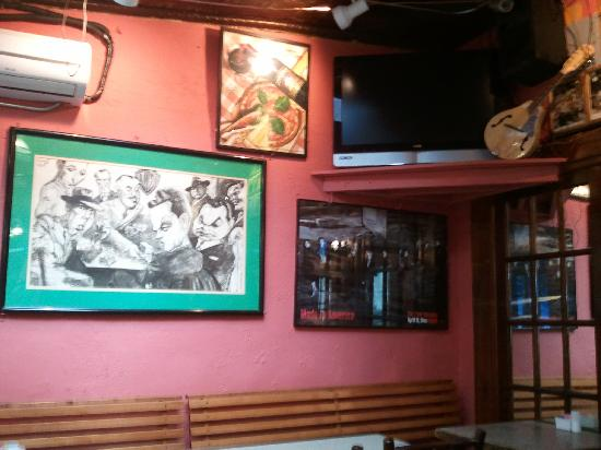 Cha Cha's In Bocca Al Lupo Cafe : Pic of inside of restaurant