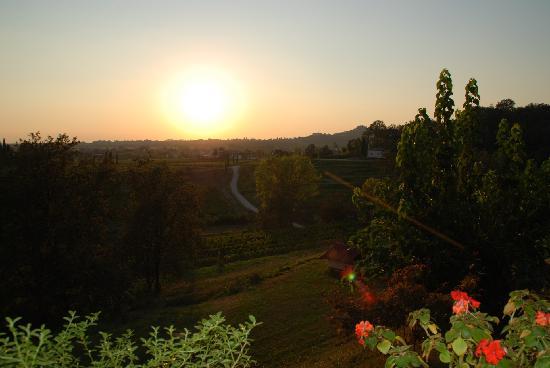 Al Postiglione: View from the restaurant