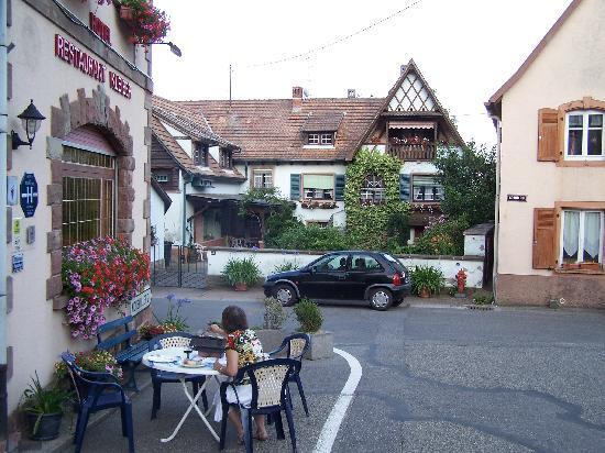 Hotel Restaurant Kleiber : Dinner, Table BBQ