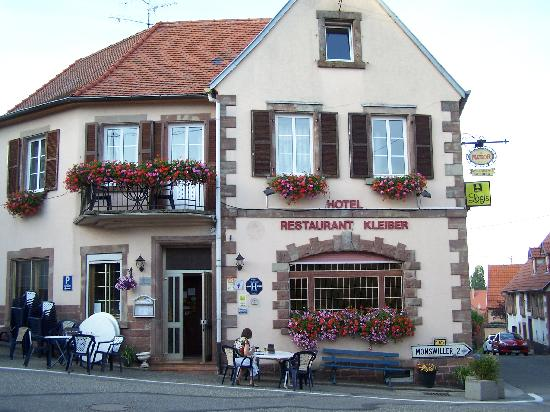 Hotel Restaurant Kleiber : A lot of character, we loved it.