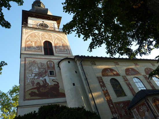 Nove Mesto na Morave, República Checa: church in Nove mesto