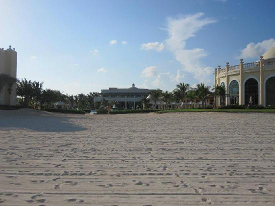 Iberostar Grand Hotel Paraiso: From ocean looking at resort