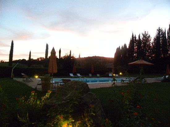Ghiaccio Bosco: tramonto di fine estate