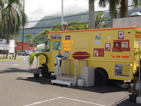 Mike's Huli Chicken: Mike's huli huli truck