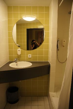 B&B Hotel Muenchen-Messe : bagno