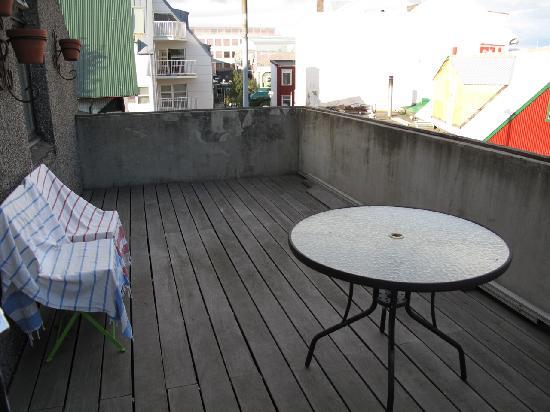 Skolabru Guesthouse : Balcony