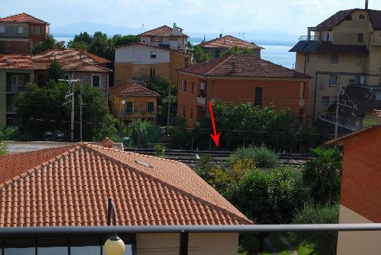 La Vela : Blick vom unserem Balkon