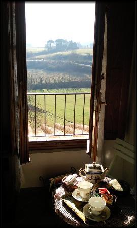 Scarperia e San Piero, Italia: Vista dal Fienile