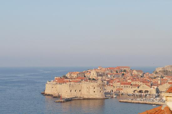 Villa Ragusa Dubrovnik: view from the balcony