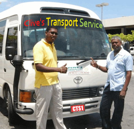 Clive's Transport Service - Tours: Christopher Gordon and Clive Gordon
