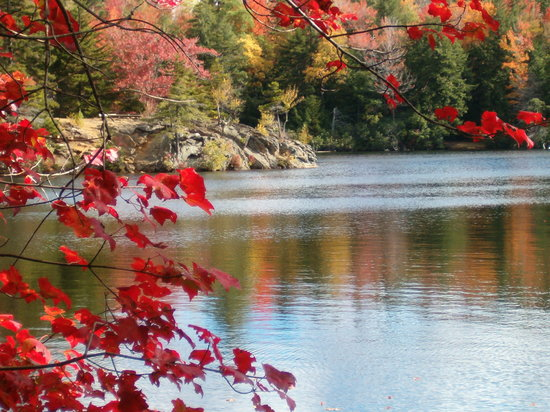 Becket, MA: Fall is a beautiful time for hiking