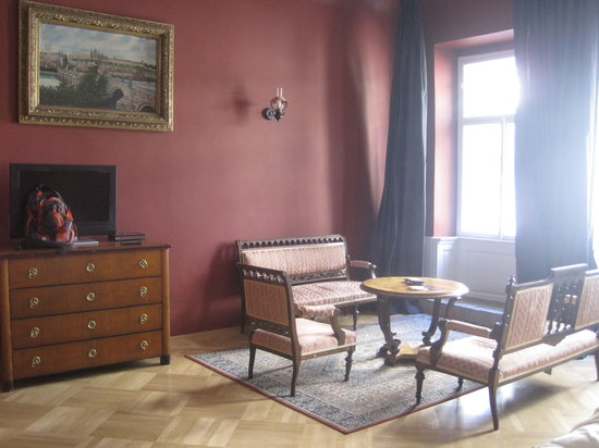 Small Luxury Palace Hotel Prague: Room 4 - another view