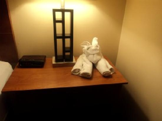 Comfort Inn Civic Center : Cute towel bunny