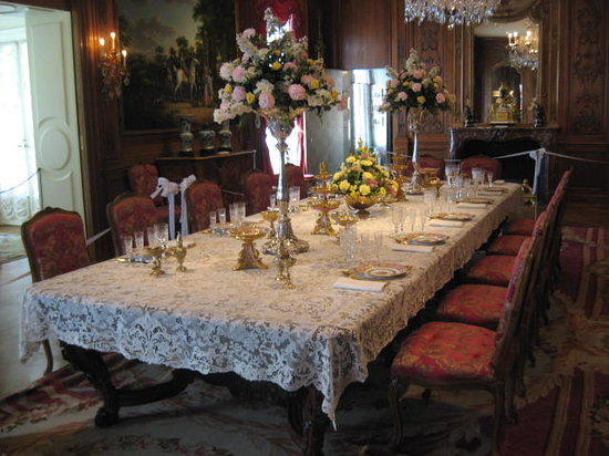 Hillwood Estate, Museum & Gardens: Dining room