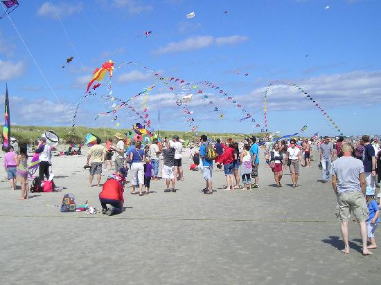 Ogunquit Beach: A kite festival made this visit special.
