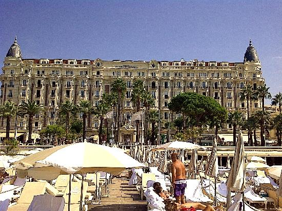 The Carlton Cannes From The Private Beach Photo De