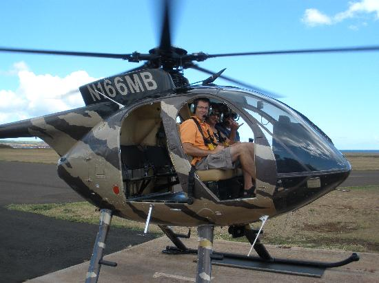 Inter-Island Helicopters: Satisfied customers!