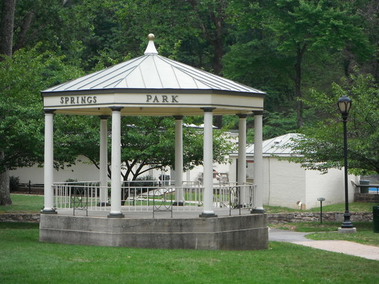 Berkeley Springs, Virginia Occidental: The gazebo