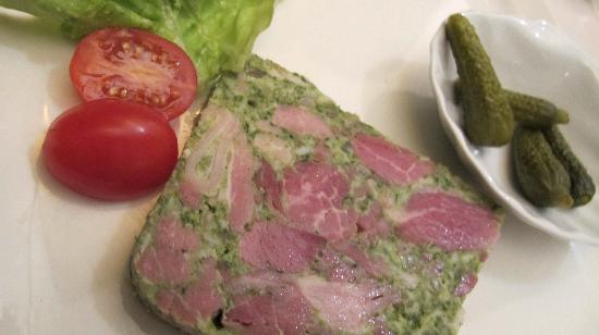 Le Gourmandin: Jambon persilee
