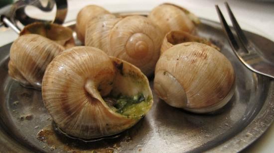 Le Gourmandin: Escargots