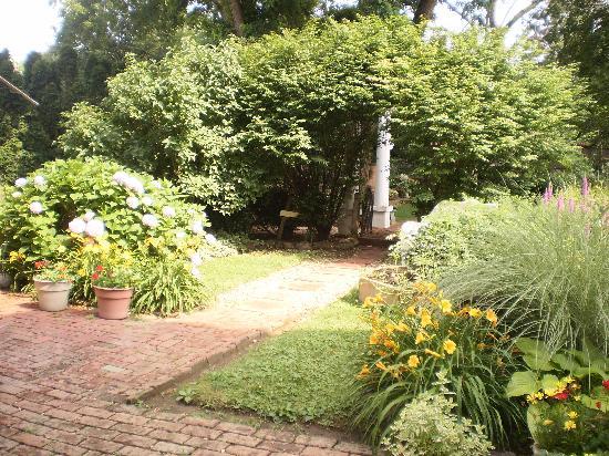 The Secret Garden: Overlooking the Garden Area