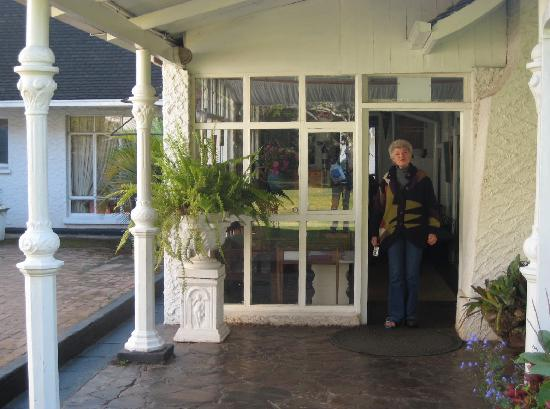 Borrowdale Country Manor: Ann Hamilton King welcomes guests
