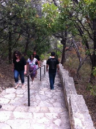 Mount Bonnell: Stairways to Mt. Bonnell