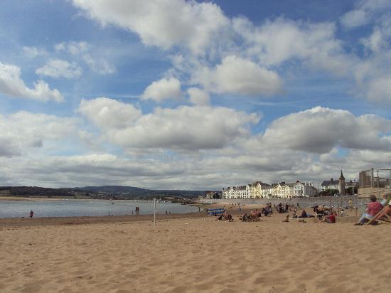 Exmouth beach - western end