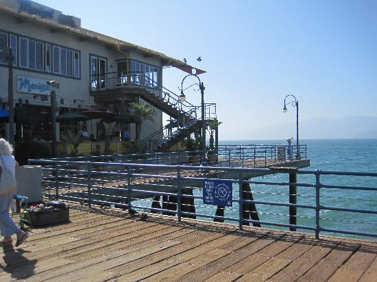Santa Monica Pier: the restaurant