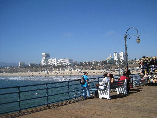 Santa Monica Pier: the pier