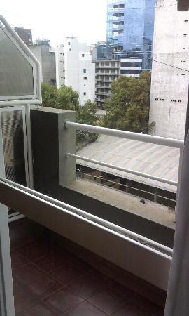Intersur Suites: El balcón