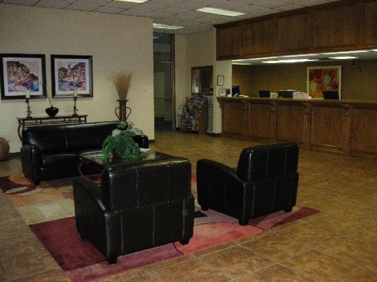 Ramada Oklahoma City Near Bricktown: Bricktown Hotel & Convention Center Lobby, Oklahoma City, OK