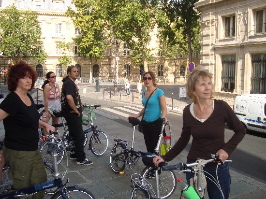 Bike About Tours: Tour Group & Guide