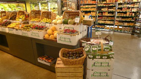 Oxbow Public Market: Fresh Produce
