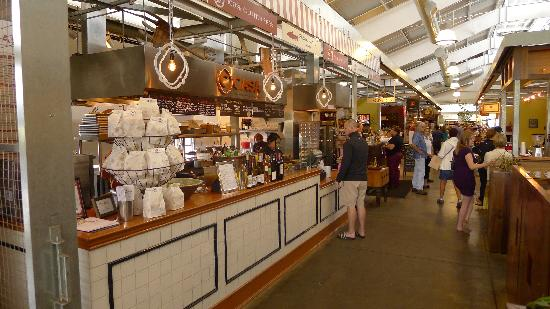 Inside the Oxbow Public Market