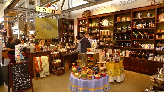 Olive Oil at Oxbow Public Markets