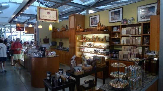 Chocolate shop at Oxbow Public Market