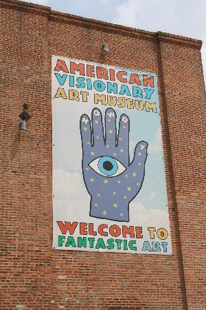 American Visionary Art Museum: The sign