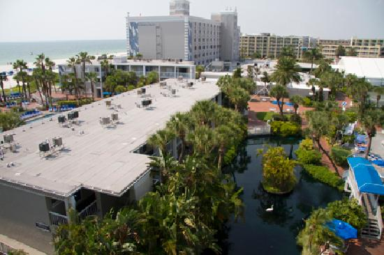 """TradeWinds Island Grand Resort: View from """"Tropical"""" Room Balcony"""