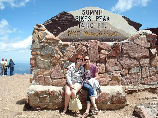 Pikes Peak: At the top