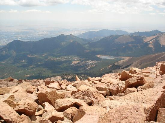 Pikes Peak: Views!