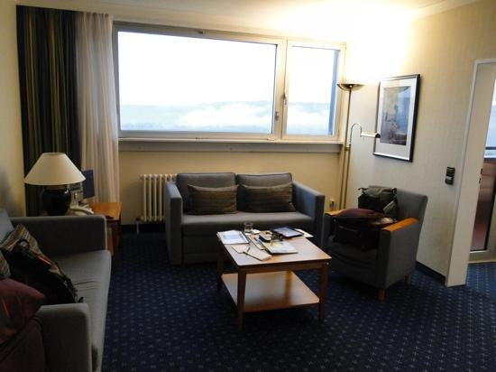 Wyndham Garden Lahnstein Koblenz: upgraded to suite