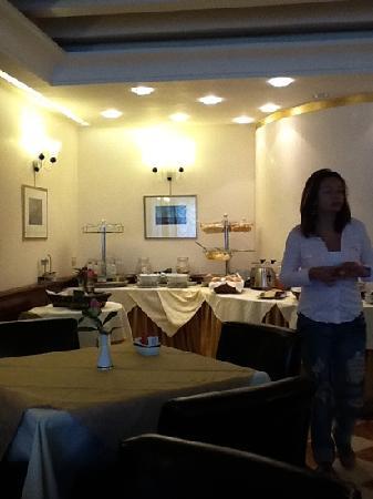 San Sebastiano Garden Hotel: Breakfast