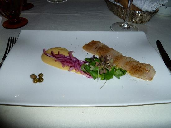 Arany Kaviár Restaurant: Smoked Trout