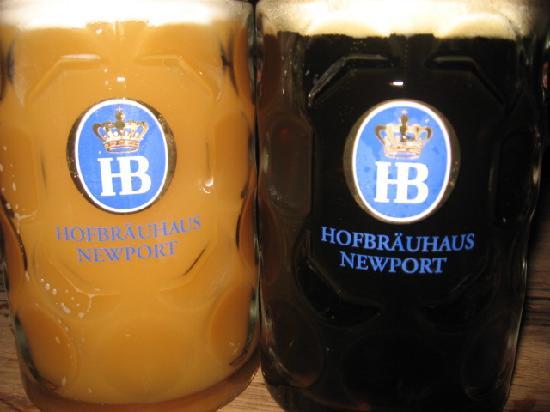 Hofbrauhaus Newport: Great Beer!