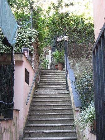 Albergo al Carugio: Walking up to the hotel