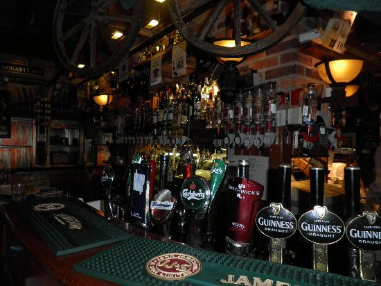 Oliver St. John Gogarty's Hostel: The pub