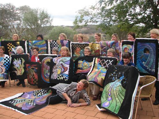 Avalon Homestead: Results from a quilting retreat with Helen Godden!